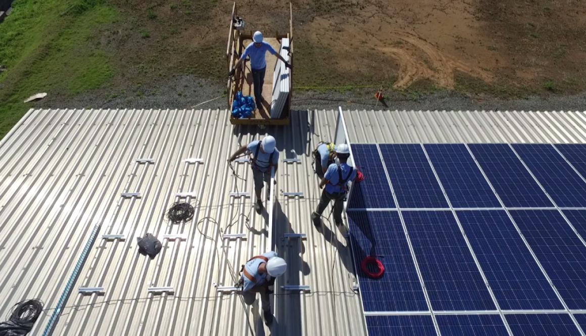 industrias benefícios energia solar