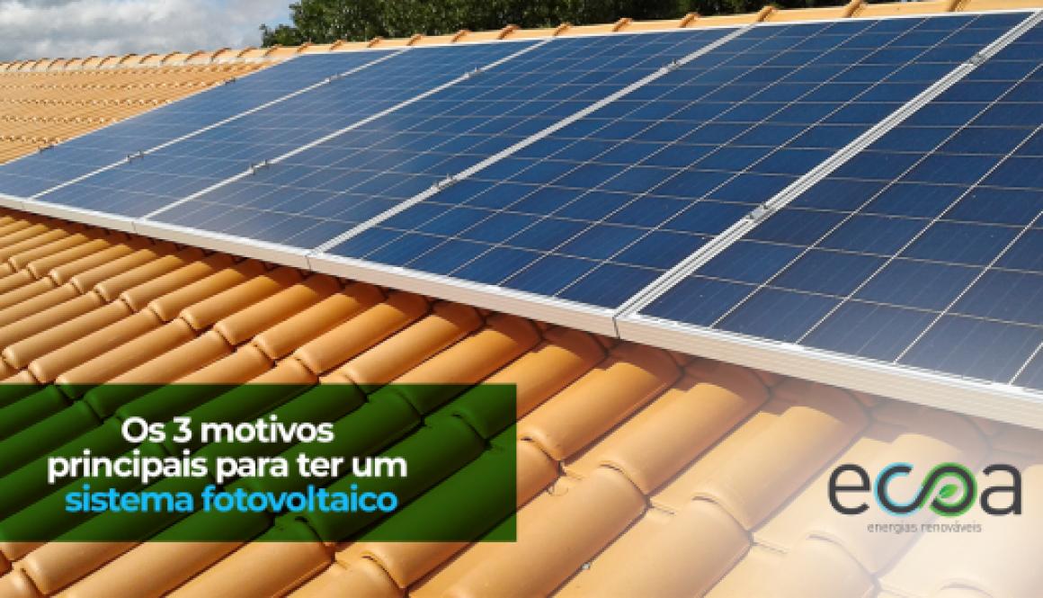 motivos sistema fotovoltaico