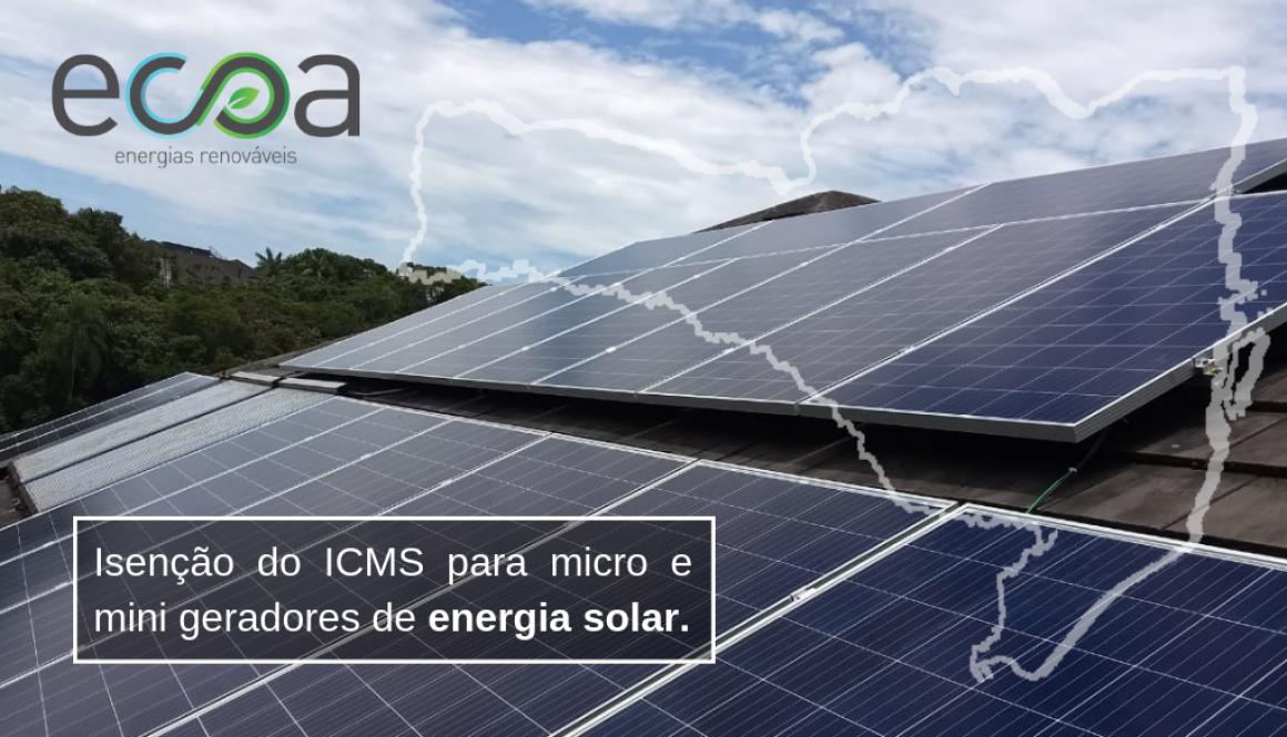 ICMS mini e micro geradores