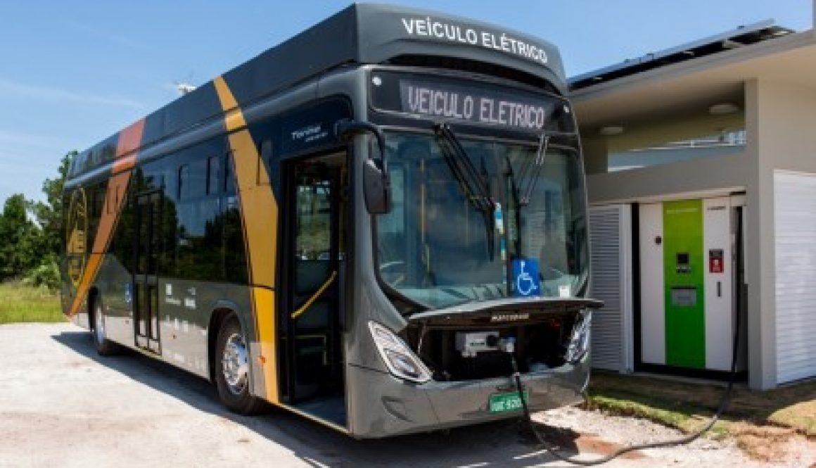 Ônibus elétrico Florianópolis