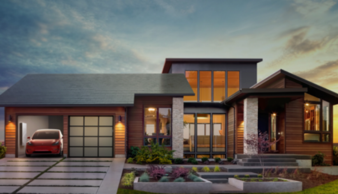 Tesla telhado solar