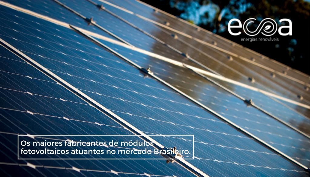 Fabricação de placas solares fotovoltaicos