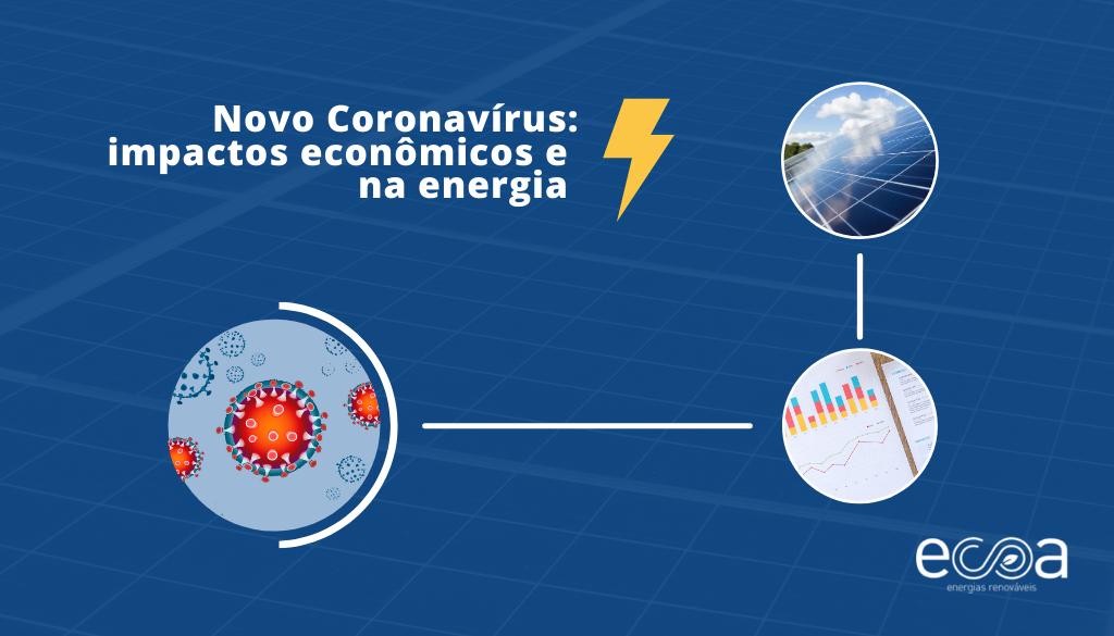 Impactos do Novo Coronavírus na economia, na energia elétrica e na energia solar fotovoltaica