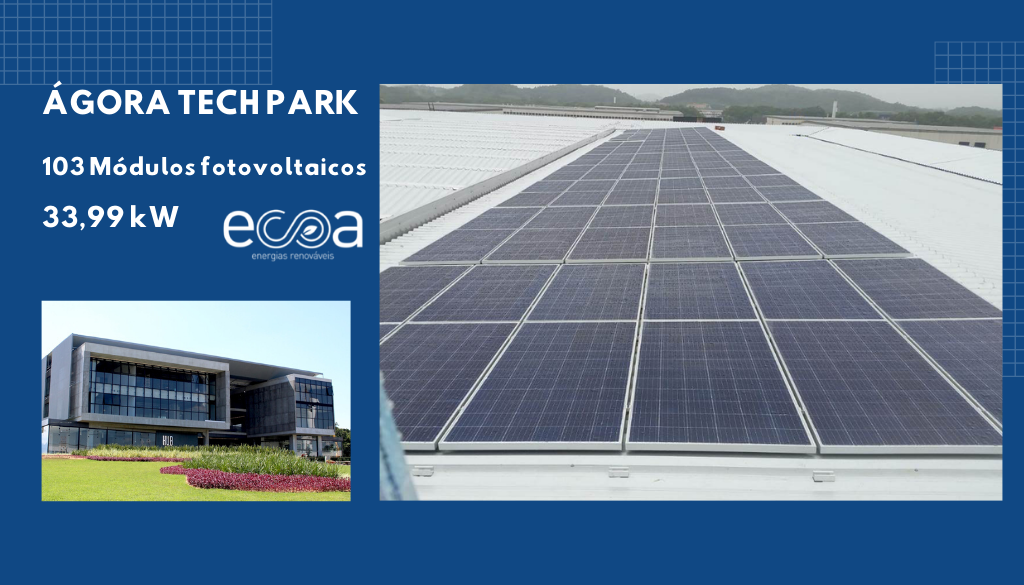 Ágora Tech Park Energia solar
