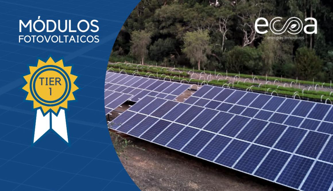 Módulos fotovoltaicos tier 1
