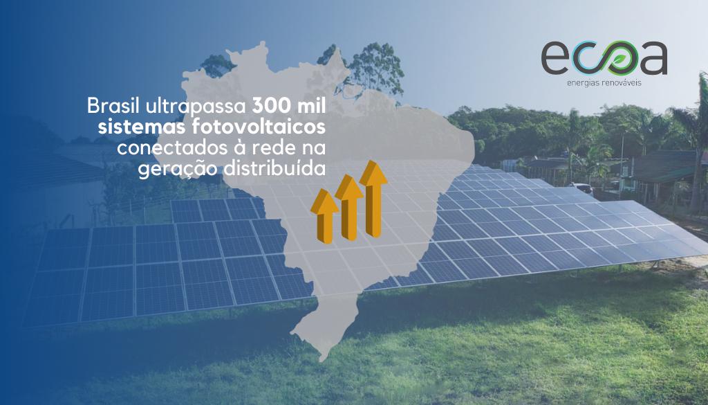 Energia fotovoltaica brasil dados