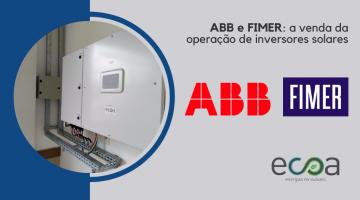 ABB e FIMER inversores